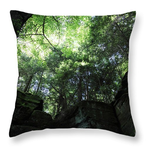 Nature Throw Pillow featuring the photograph Peace all Around by Amanda Barcon