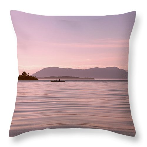 San Throw Pillow featuring the photograph Peace Of Mind by Betsy Knapp