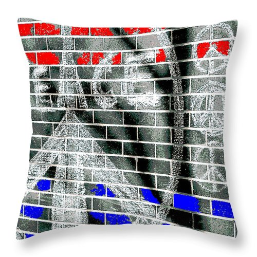 Peace Throw Pillow featuring the photograph Peace Tree P by Gary Everson