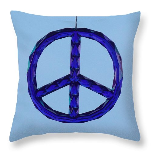 Peace Throw Pillow featuring the photograph Peace by Virginia Kay White