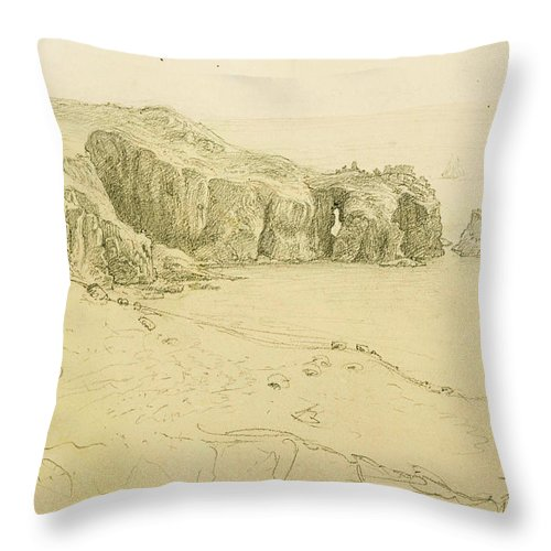 Pele Point Land's End Throw Pillow For Sale By Samuel Palmer Mesmerizing Lands End Decorative Pillows