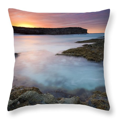 Dawn Throw Pillow featuring the photograph Pennington Dawn by Mike Dawson