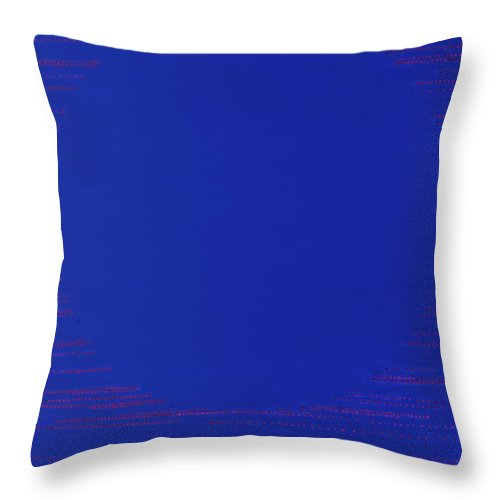 Spiritual Throw Pillow featuring the painting Perfect Existence by Kyung Hee Hogg