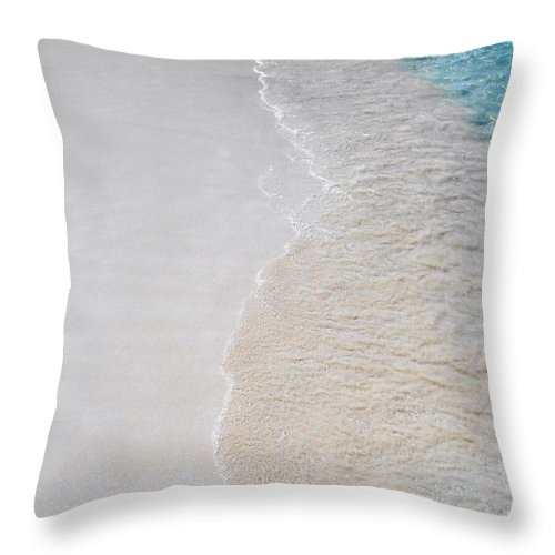 Sand Throw Pillow featuring the photograph Perfection by Margaret Bobb