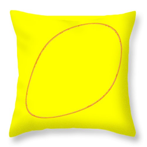 Square Throw Pillow featuring the digital art Perimeter 2 by Eikoni Images