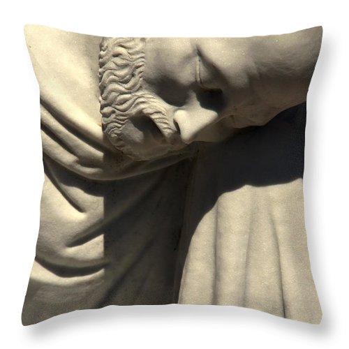 Saint Peter Throw Pillow featuring the photograph Petrus Or Saint Peter by Susanne Van Hulst
