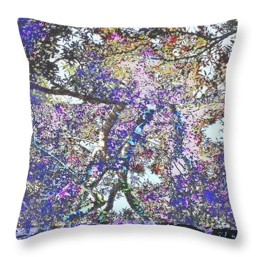 Square Throw Pillow featuring the digital art Phanquzhi by Eikoni Images