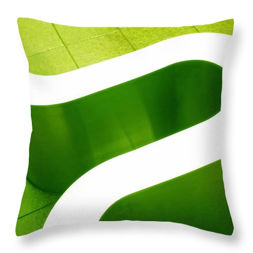 Abstract Throw Pillow featuring the photograph Pharmacia by Skip Hunt