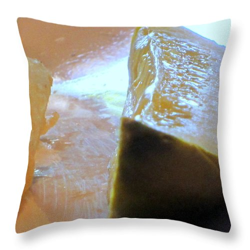 Pickles Throw Pillow featuring the photograph Pickle by Amy Hosp