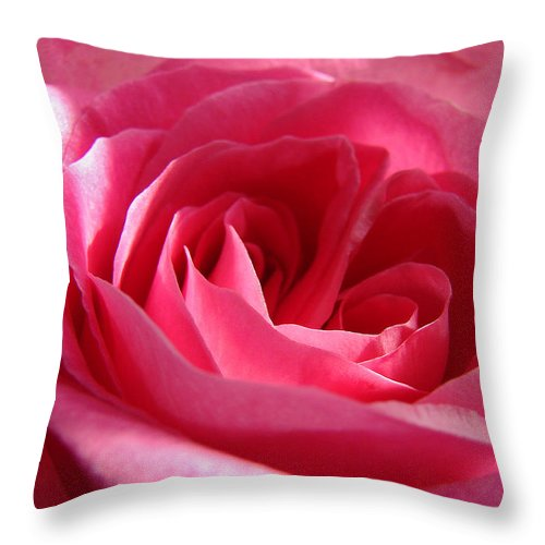 Throw Pillow featuring the photograph Pink by Luciana Seymour