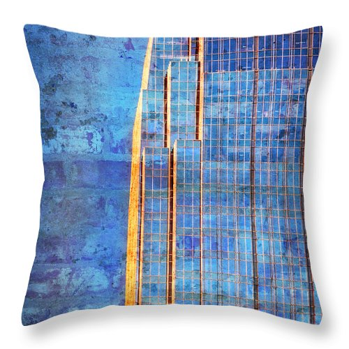 Pinnacle Throw Pillow featuring the photograph Pinnacle by Diana Powell