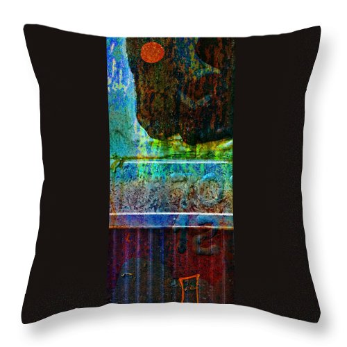 Pi Throw Pillow featuring the photograph piNsky by Skip Hunt