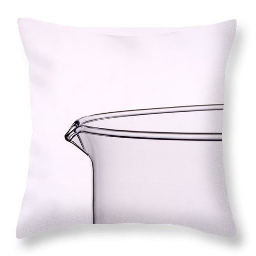 Glass Throw Pillow featuring the photograph Pitcher by Jessica Wakefield