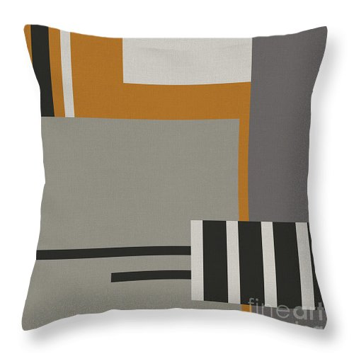 Abstract Throw Pillow featuring the digital art Plugged Into Life by Absentis Designs