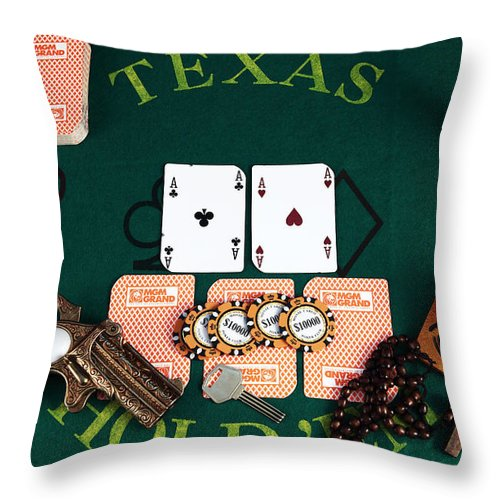 Pictures Throw Pillow featuring the photograph Pocket Rockets by John Rizzuto