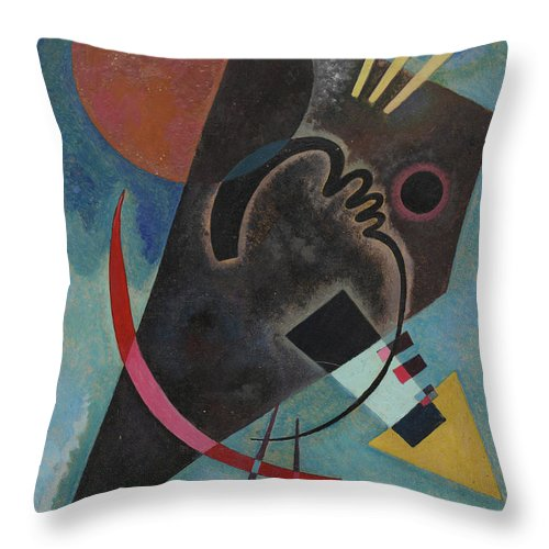 Pointed And Round Throw Pillow For Sale By Wassily Kandinsky Enchanting Round Decorative Pillows Sale