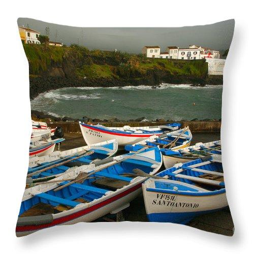 Coastal Throw Pillow featuring the photograph Porto Dos Carneiros by Gaspar Avila