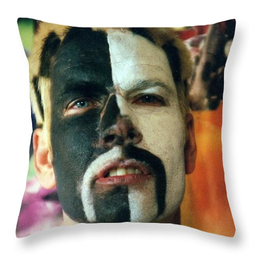 Portrait Of The Artist Throw Pillow For Sale By John Linden