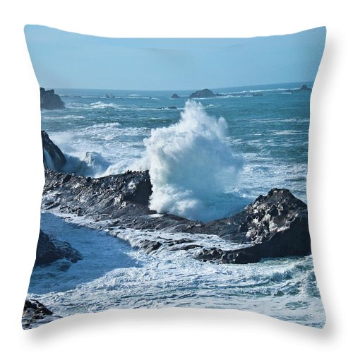 Power Throw Pillow featuring the photograph Power by Merrill Beck