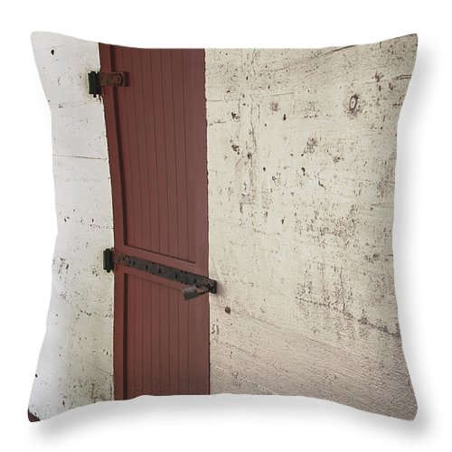 Florida Throw Pillow featuring the photograph Power Room - Fort Desoto Florida by Mark Fuge
