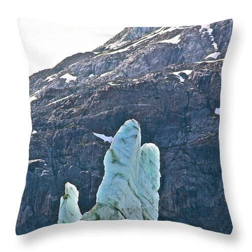 Alaska Throw Pillow featuring the photograph Praise The Lord by Diana Hatcher
