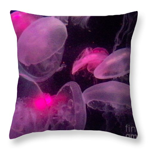 Florida Throw Pillow featuring the photograph Pretty In Pink by Chris Andruskiewicz