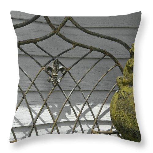 Frog Throw Pillow featuring the photograph Prince Charming by JAMART Photography