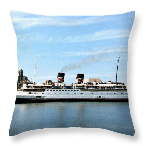 Princess Marguerite Throw Pillow featuring the photograph Princess Marguerite by Will Borden