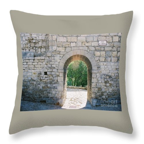 Promise Throw Pillow featuring the photograph Promise by Nadine Rippelmeyer