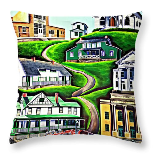 Welch Throw Pillow featuring the photograph Proud Heritage by Steve Harrington