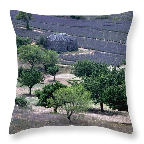 Provence Throw Pillow featuring the photograph Provence by Flavia Westerwelle