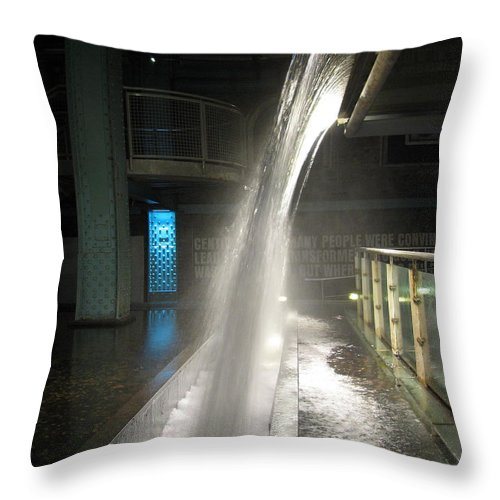 Guinness Throw Pillow featuring the photograph Pure Guinness by Kelly Mezzapelle