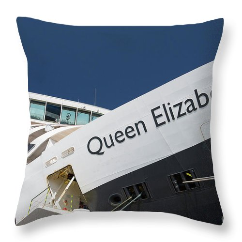 Queen Eliabeth Throw Pillow featuring the photograph Queen Eliabeth by Sheila Smart Fine Art Photography