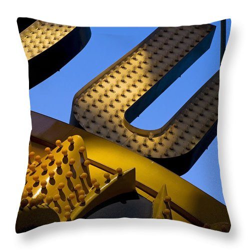 Architecture Throw Pillow featuring the photograph Queen Of Hearts by Skip Hunt