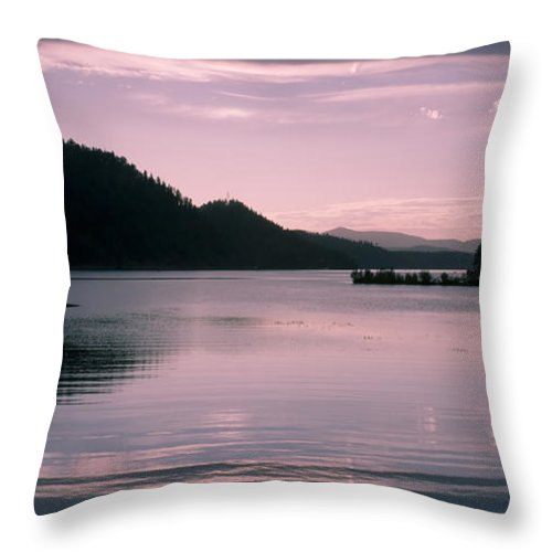 Idaho Throw Pillow featuring the photograph Quiet Afternoon by Idaho Scenic Images Linda Lantzy