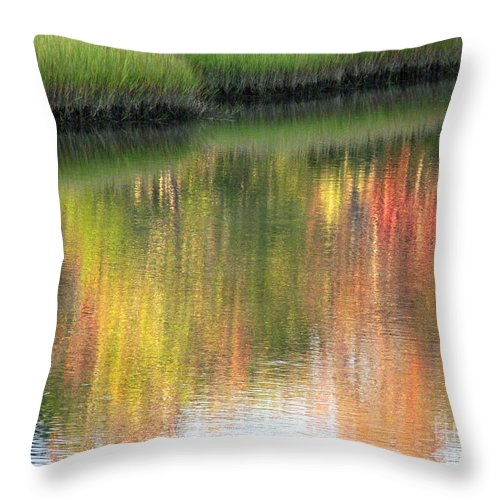 Water Throw Pillow featuring the photograph Quiet Inspiration by Sybil Staples