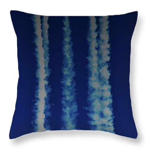 Moon Throw Pillow featuring the photograph Racing For The Moon by Chris Lord