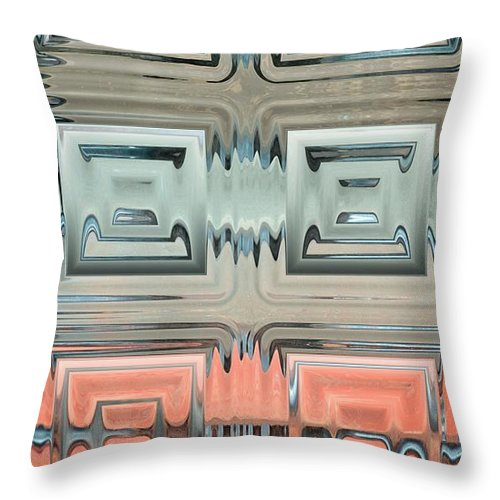 Rainbow Throw Pillow featuring the photograph Rainbow Glass2 by Donna Bentley