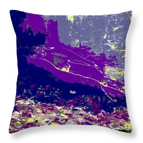 Rainforest Throw Pillow featuring the photograph Rainforest Shadows by Ian MacDonald