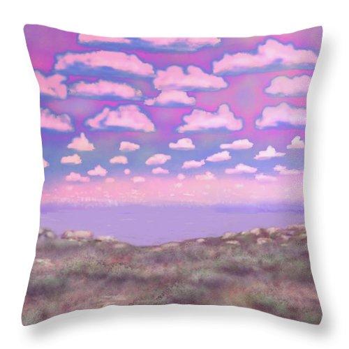 Randolph Scott Throw Pillow featuring the digital art Randolph Scott by Kerry Beverly