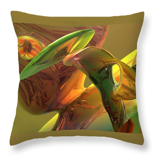 Scott Piers Throw Pillow featuring the painting RBG by Scott Piers