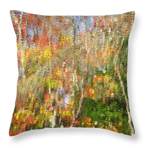 Water Throw Pillow featuring the photograph Reaching For The Sky by Sybil Staples
