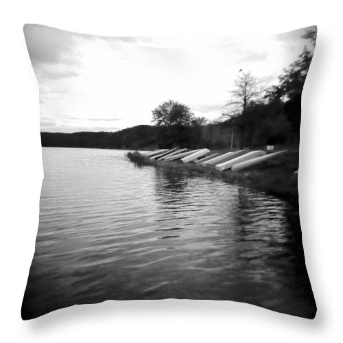 Photograph Throw Pillow featuring the photograph Ready And Waiting by Jean Macaluso