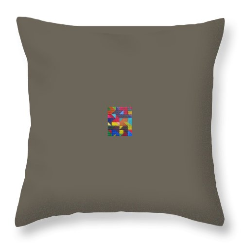 Digitalize Image Throw Pillow featuring the digital art Real Sharp by Andrew Johnson