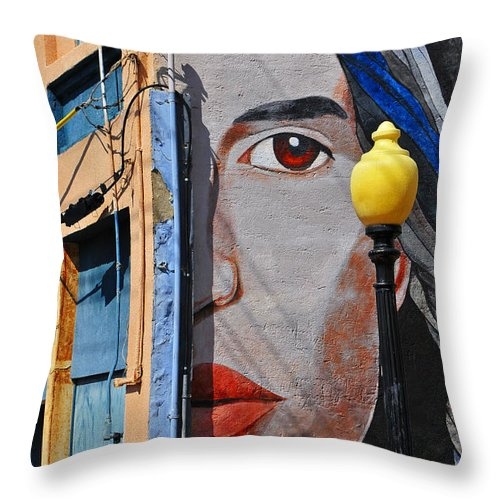 Skip Hunt Throw Pillow featuring the photograph Redeye by Skip Hunt