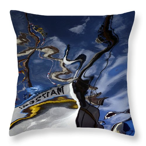 Art Throw Pillow featuring the photograph Reflect 05 by Shufu