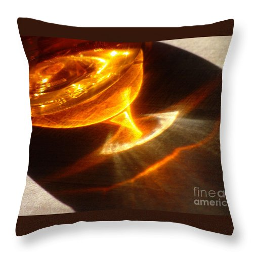 Reflection Throw Pillow featuring the photograph Reflect64 by Gary Gingrich Galleries