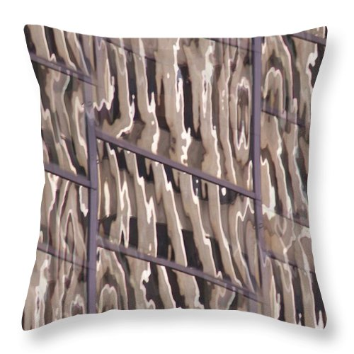Reflection Throw Pillow featuring the digital art Reflection by Tim Allen
