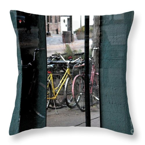 Reflection Throw Pillow featuring the photograph Reflection X2 by Gary Everson