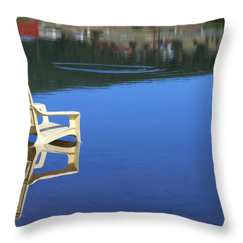 Water Throw Pillow featuring the photograph Reflections Fine Art Photography Print by James BO Insogna